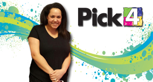 Kayla Dean won 2,700 playing Pick 4