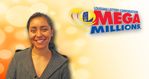 Nathaly Sanchez-Vargas's Mega Millions winner photo