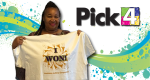 Sophia Reddix won 2,700 playing Pick 4