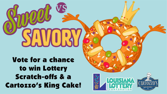Win a King Cake! mobile